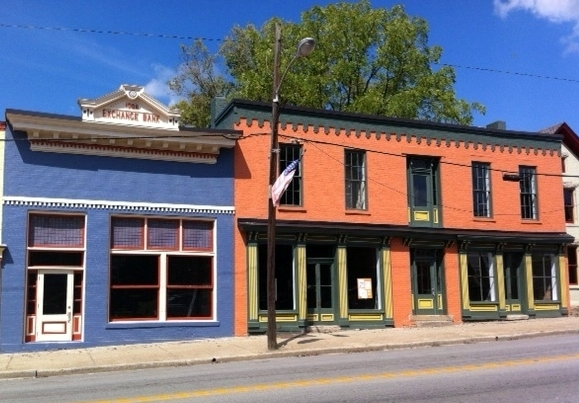 Main Street, Millersburg, Bourbon Co, KY
